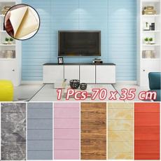 Wood, wallpapersticker, Home Decor, 3dwallsticker