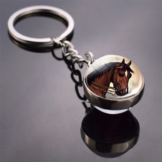 horse, Key Chain, Jewelry, Glass