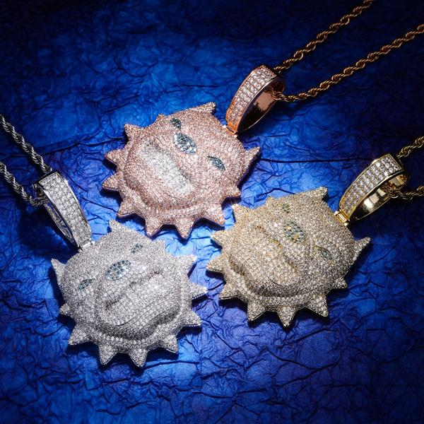 Cubic Zirconia, Fashion necklaces, Chain, Jewelry