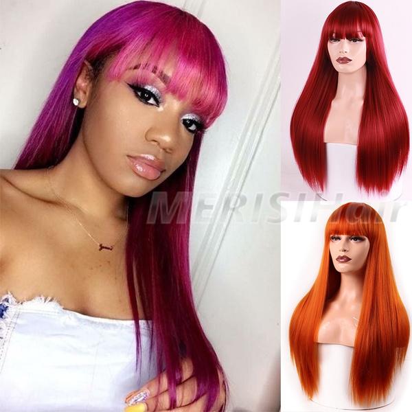 wig, Beautiful, straightwig, Fashion