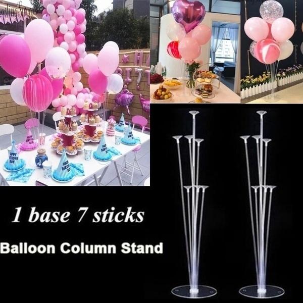 balloonsaccessorie, festiveballoon, weddingbanquet, balloontablefloatingcolumn