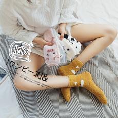 Hosiery & Socks, cute, Cotton Socks, velvet