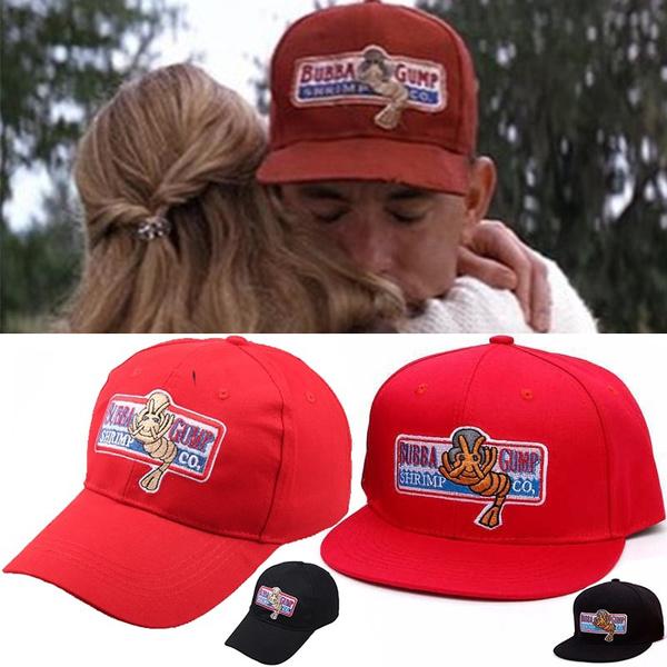 Bubba Gump Shrimp embroidered baseball Cap Red