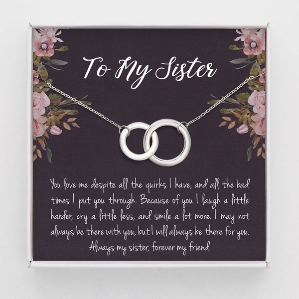 circlenecklace, friendshipnecklace, Gifts, friendshipgift