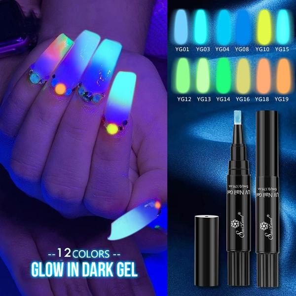 art, UV Gel Nail, hybrid, Dark