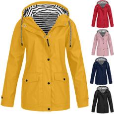 Outdoor, Waterproof, Long Sleeve, Coat