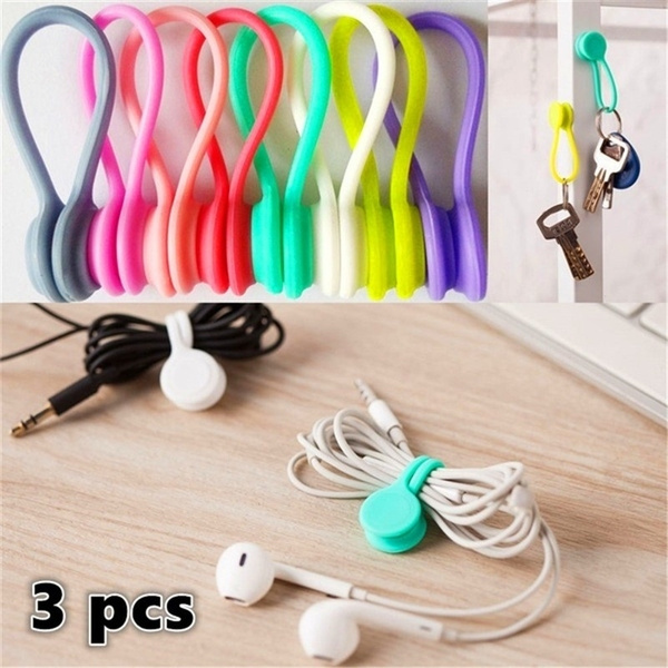 cableclip, Silicone, cableorganizer, Magnetic
