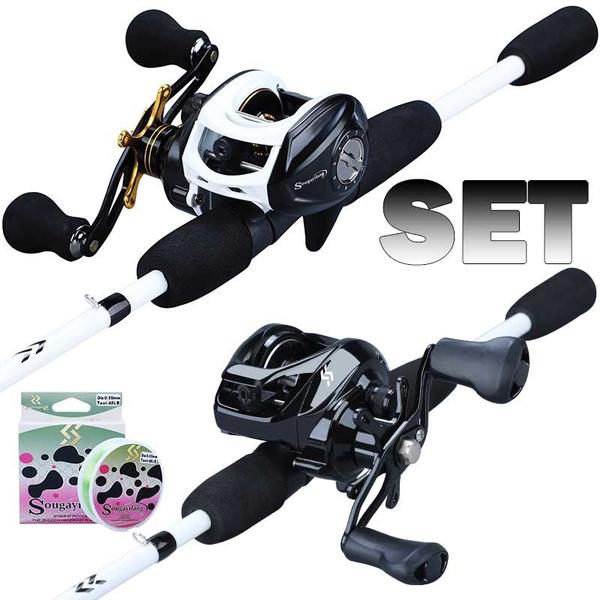 fishingset, Outdoor, fishingrod, baitcastingreel