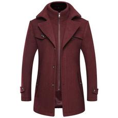 woolen, woolen coat, warmjacket, trenchcoatformen