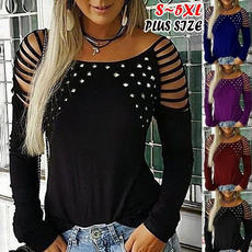 Plus Size, Spring/Autumn, Sleeve, Long Sleeve