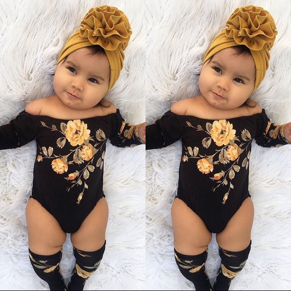 Baby, Flowers, Long Sleeve, Leg Warmers