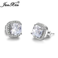 White Gold, Sterling, DIAMOND, Sapphire