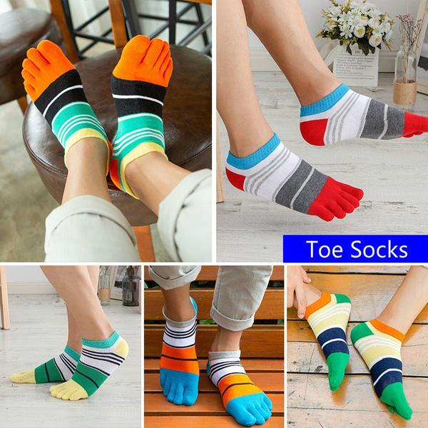 sockswith5toe, boatsock, Cotton Socks, Cotton