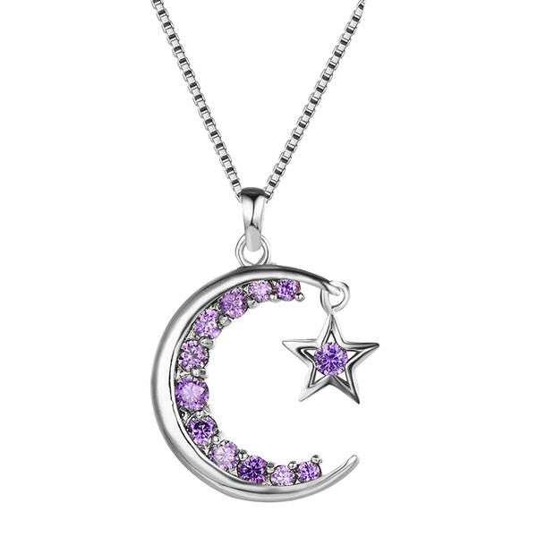 White Gold, amethystnecklace, Fashion, gold