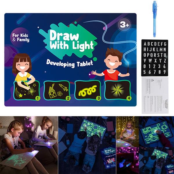 drawsketchpadboard, School, Toy, light up