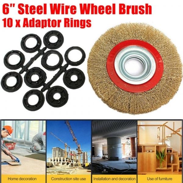 Cleaner, wheelbrush, wirebrush, finewirebrushwheel