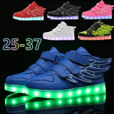 shoes for kids, ledshoe, casualshoesforkid, led