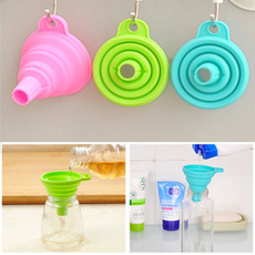 Foldable, funnel, hanginghole, Silicone