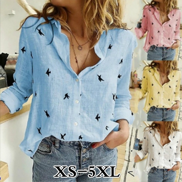Plus Size, Shirt, long sleeved shirt, printed shirts