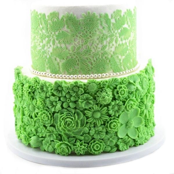 cakeborderdecoratingtool, Beautiful, Flowers, fondantcakedecoratingmold