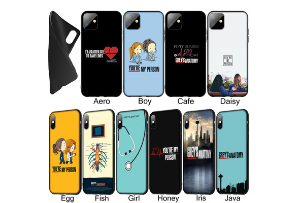 Wall Scrubs 4000090797000 Cases Inspired by Greys Anatomy Phone Case Compatible With Iphone 7 XR 6s Plus 6 X 8 9 11 Phones Cases Pro XS Max Clear Iphones Cases TPU Wall Spandex