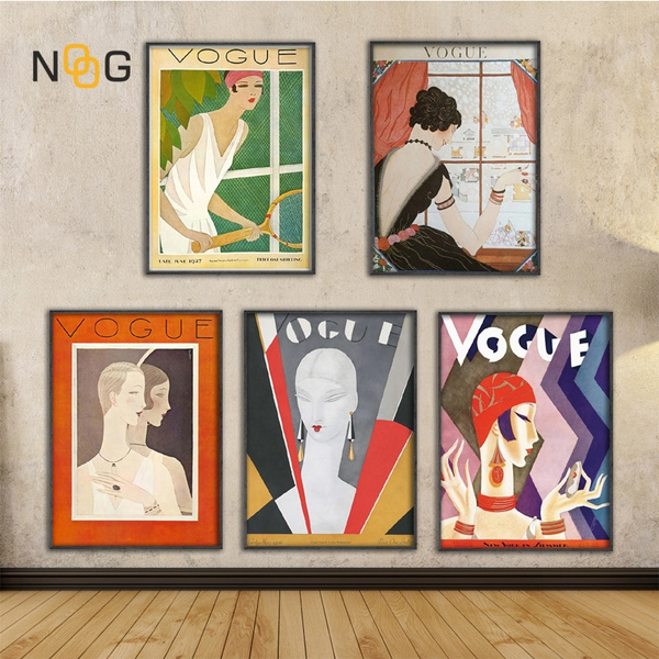 posterspainting, art, Home Decor, vogue