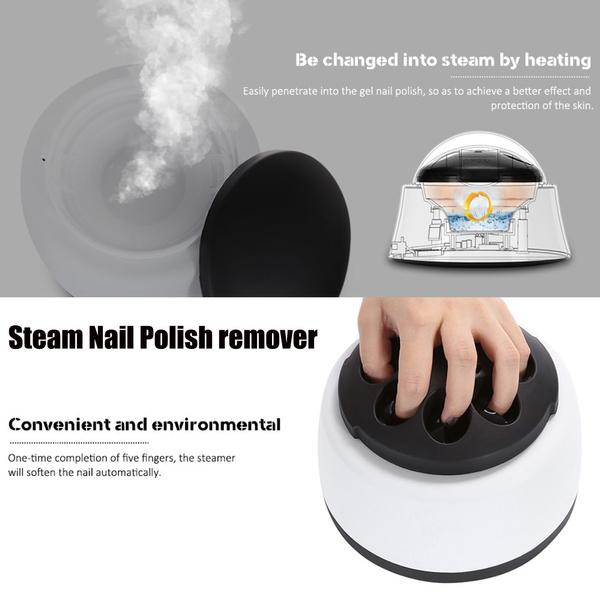 Nail Steamer Varnish Steam off Steam Nail Polish remover Nail Polish Remover