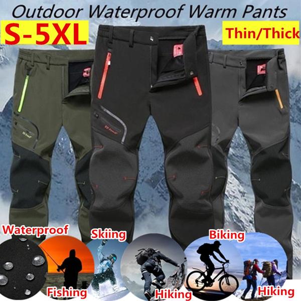 Fleece, Outdoor, Winter, men trousers