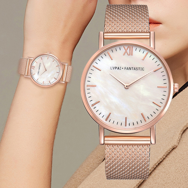 Vintage, meshstrapwatch, Fashion, quartz watch