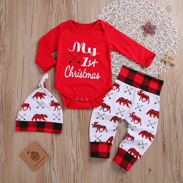 Baby Girl, Christmas, my1stchristma, pants