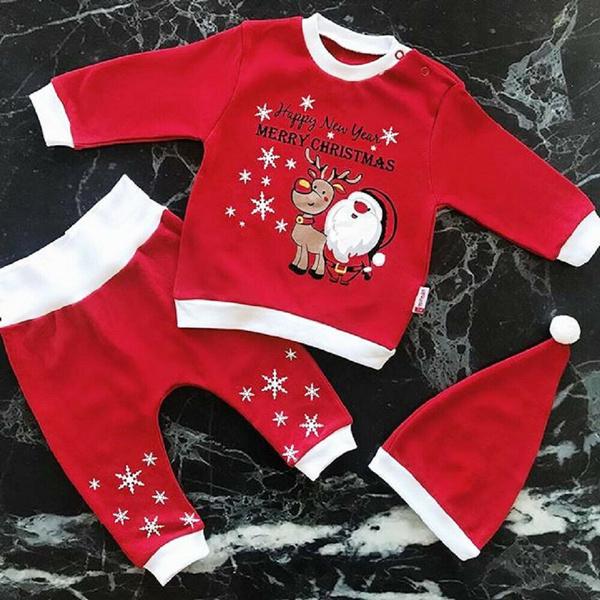 babyboygirlchristmasclothe, Christmas, pants, christmas cactus