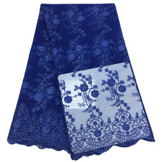 Blues, embroideriedlace, Women's Fashion & Accessories, Lace