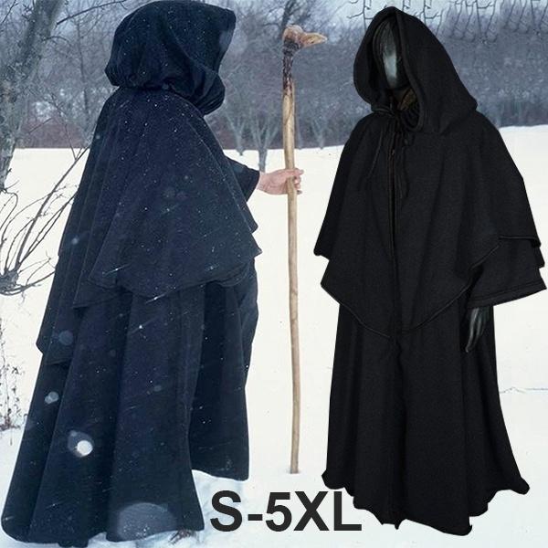 hooded, Cosplay, Medieval, Sleeve