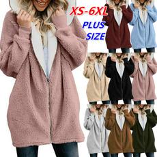 fur coat, Fashion, plussizecoat, Loose