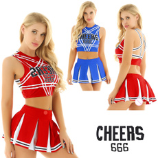 Blues, Women, Cosplay, cheercostume