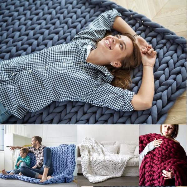 Knitting, Home Decor, Shawl, merinothrow