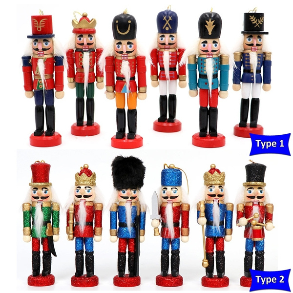 Christmas, nutcrackersoldier, Wooden, Vintage Style
