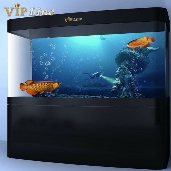 fishtankbackdropsticker, Tank, underseaworld, fishtankbackdrop
