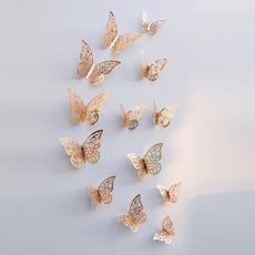 butterfly, Home & Kitchen, butterflywallsticker, Home Decor