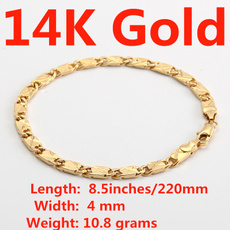 yellow gold, Jewelry, Chain, Bracelet