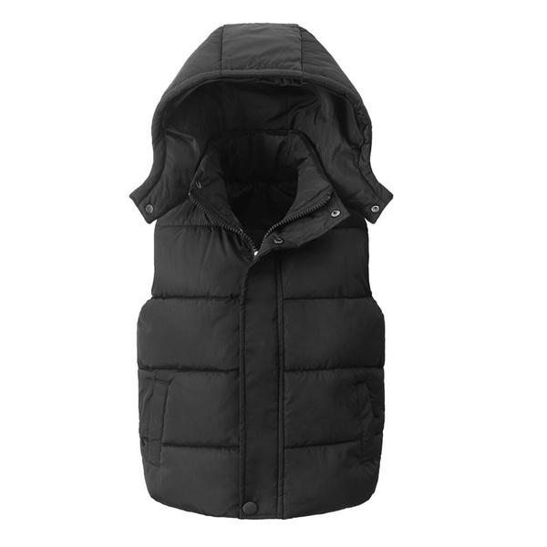 Cotton, Vest, hooded, Waist Coat