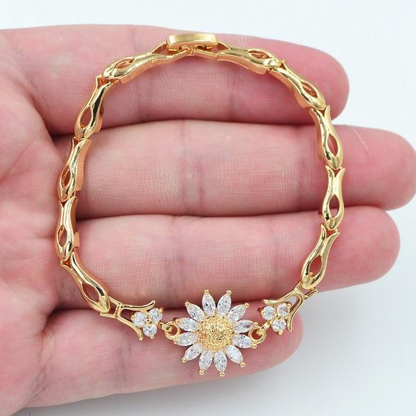 yellow gold, Charm Bracelet, topazjewelry, Fashion