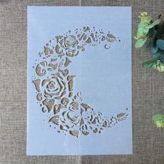 stencil, art, mandalastencil, scrapbookingamppapercraft