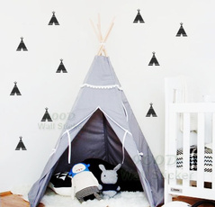 Stickers, Home & Kitchen, teepee, Wall Art