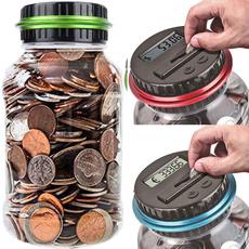 Box, collectiblecoin, piggybank, moneycounter