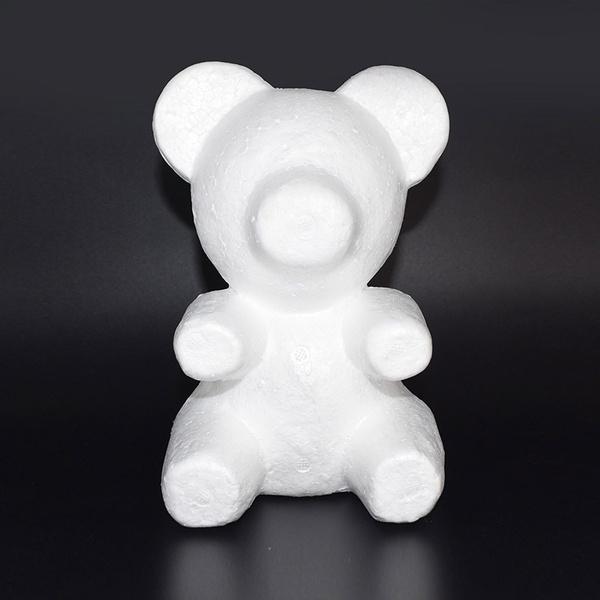 polystyrenestyrofoam, bearmold, Teddy, Valentines Day
