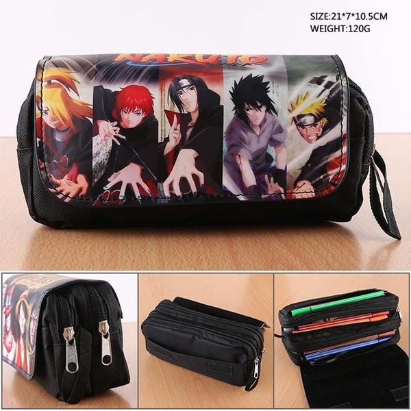 case, pencilcase, animenarutopencilbag, Makeup bag