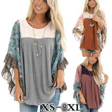 Bat, Plus Size, long sleeve blouse, long sleeve sweater