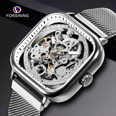 dial, Fashion, Skeleton, nettedwatch