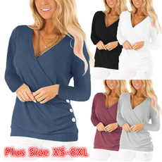 blouse, Plus Size, Tops & Blouses, Shirt